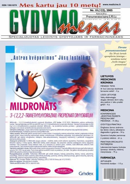 hipertenzijos kodas mikrobiologijai 10