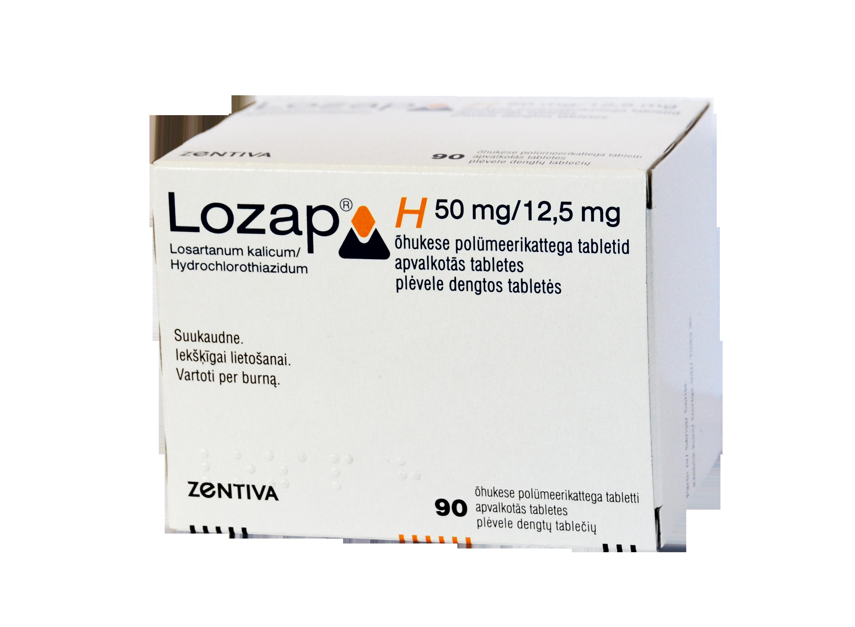 hipertenzija lozap plus