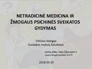 alternatyviosios medicinos gydymas hipertenzija
