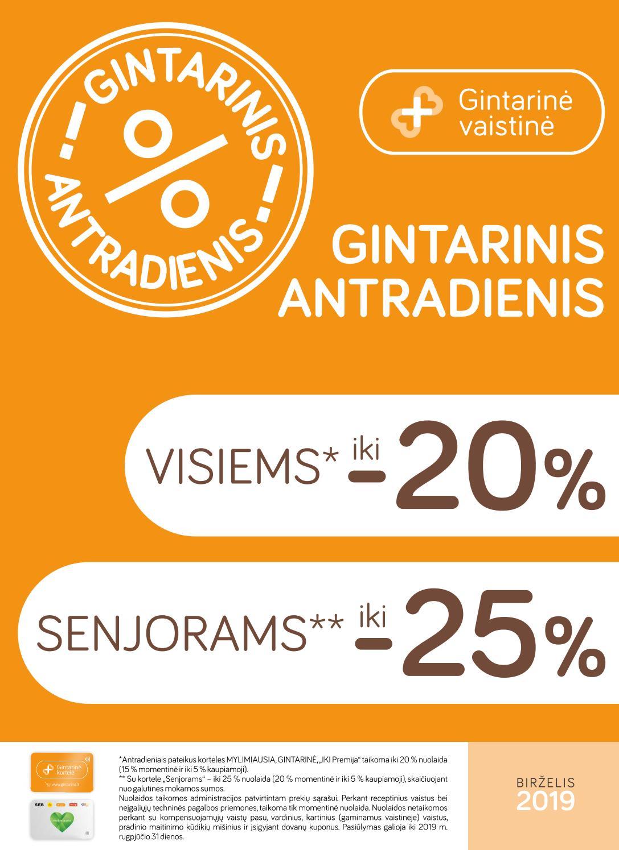 Orfarin 3mg tabletės N30