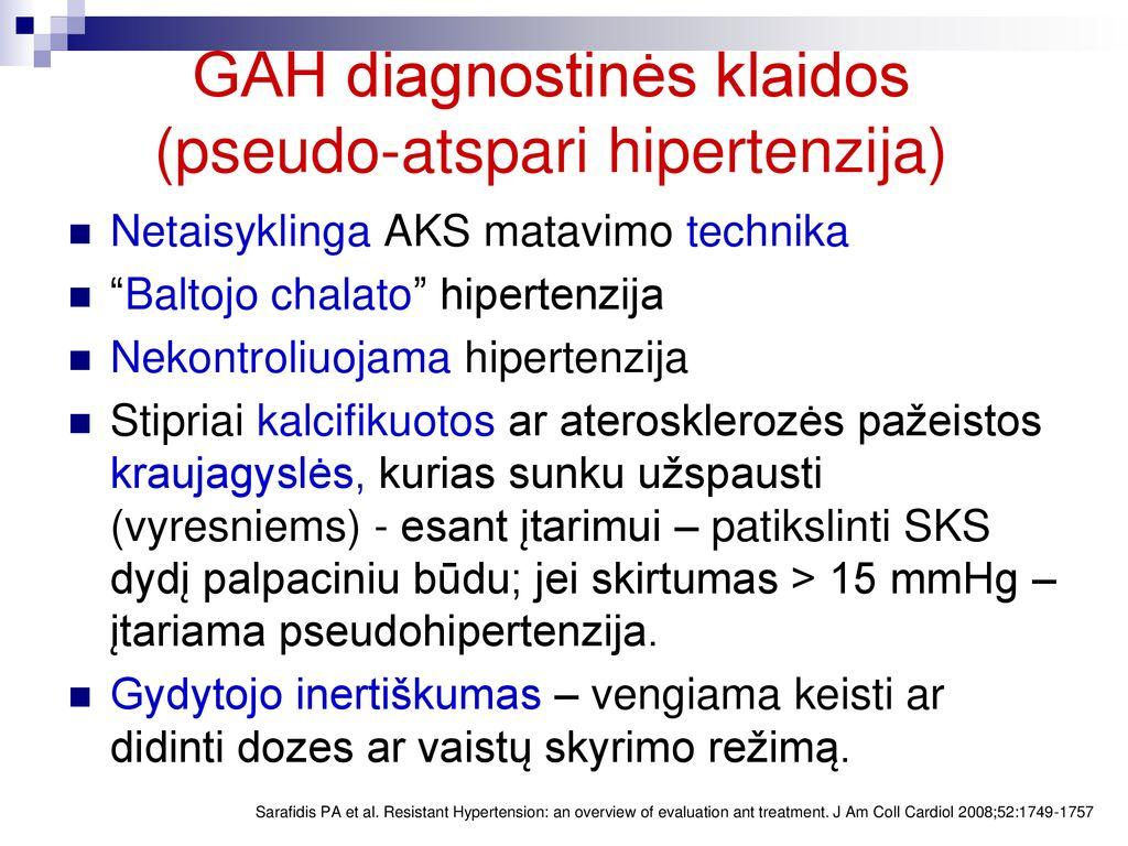 2 hipertenzijos gydymo režimas)