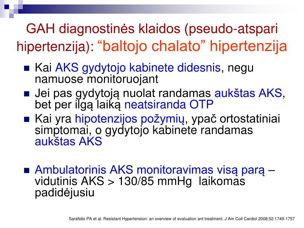 hipertenzija, kokie yra šie simptomai