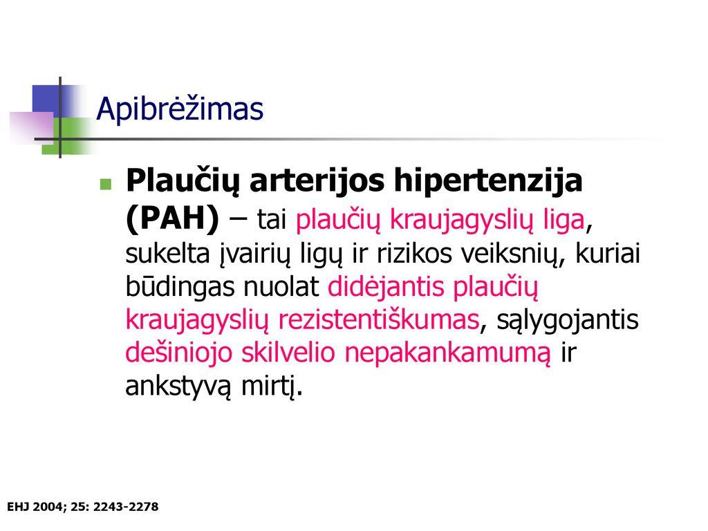 raumenų hipertenzija naujagimiams yra)