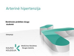 hipertenzijos simptomai ir gydymas kaukolės hipertenzija