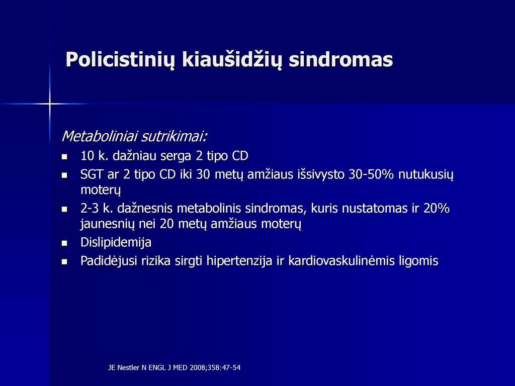 metforminas ir hipertenzija)