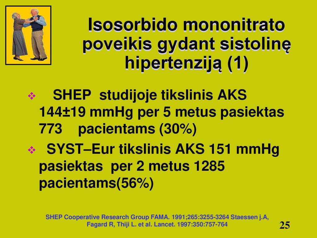 vazospastinė hipertenzija
