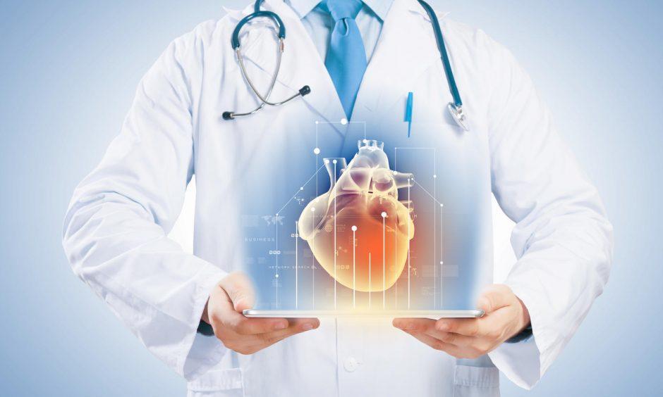 gerą širdies sveikatos priežiūrą)