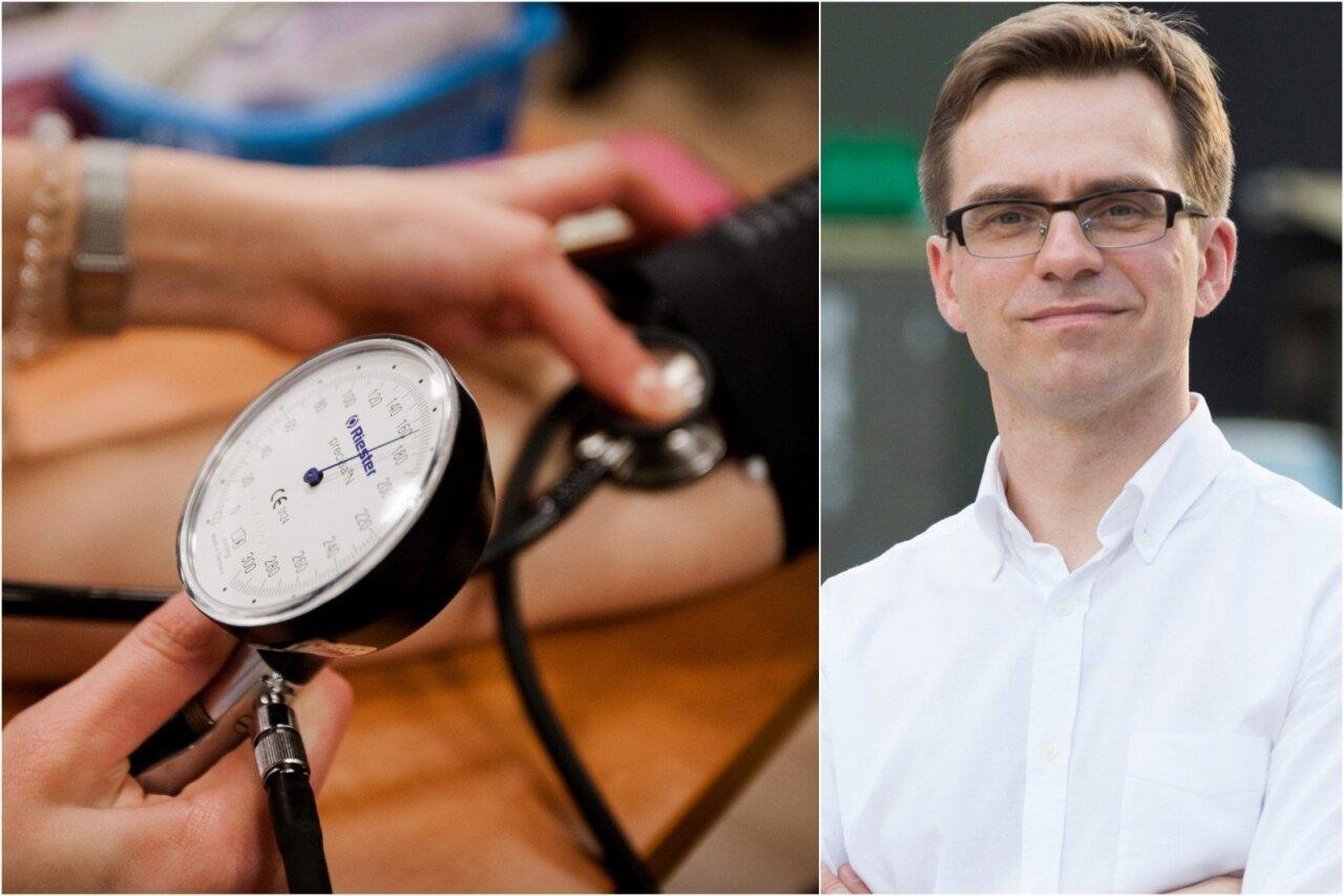 kraujospūdžio hipotenzija hipertenzija