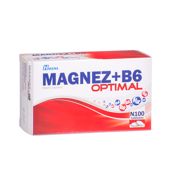 magnio ir vitamino b6 hipertenzija