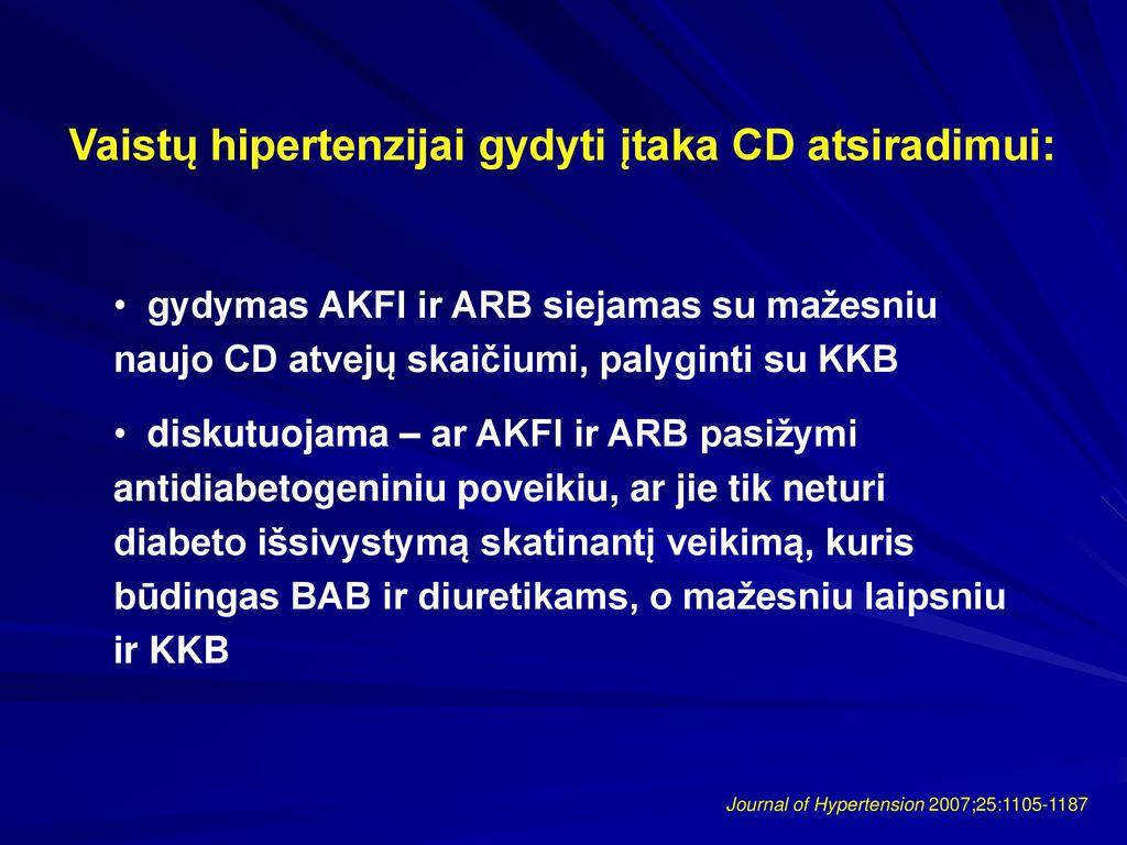 Vyresnių žmonių arterinės hipertenzijos gydymas lerkanidipinu