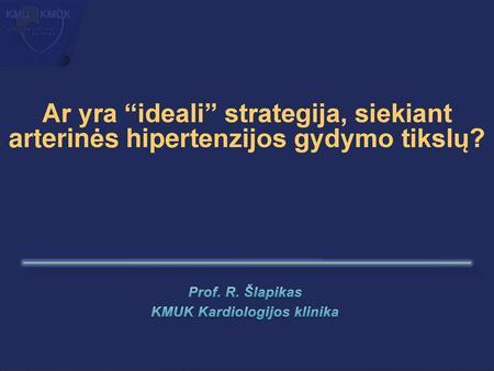 medicininė apžiūra su hipertenzija)
