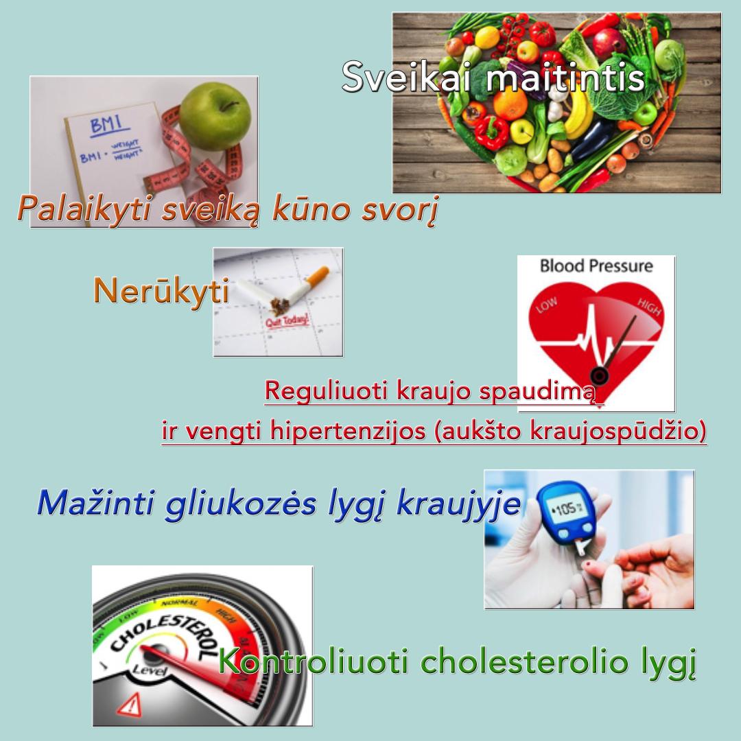 programa sveikai gyventi dėl hipertenzijos hipertenzija saulėgrąžos