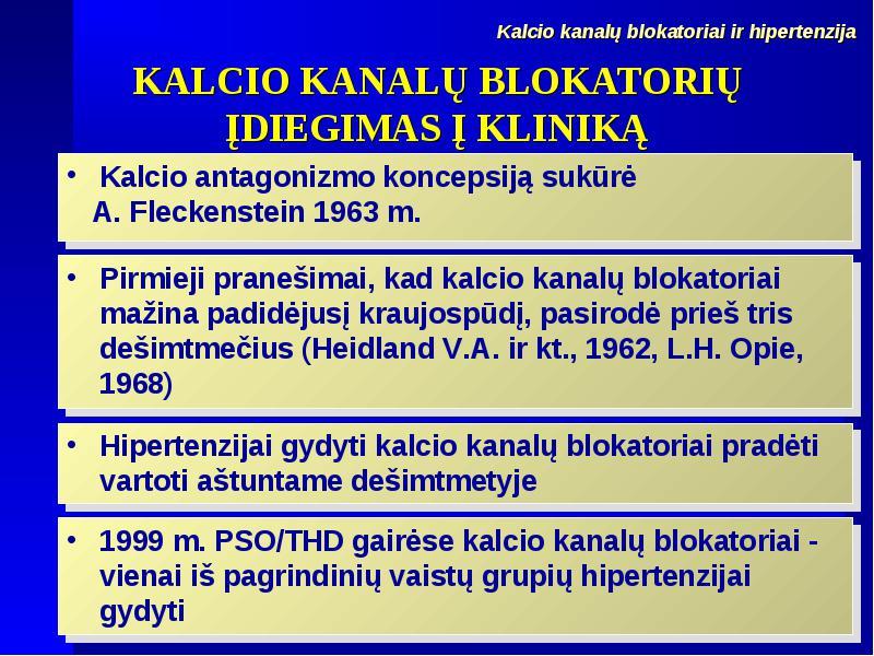 hipertenzija PSO klasifikacija