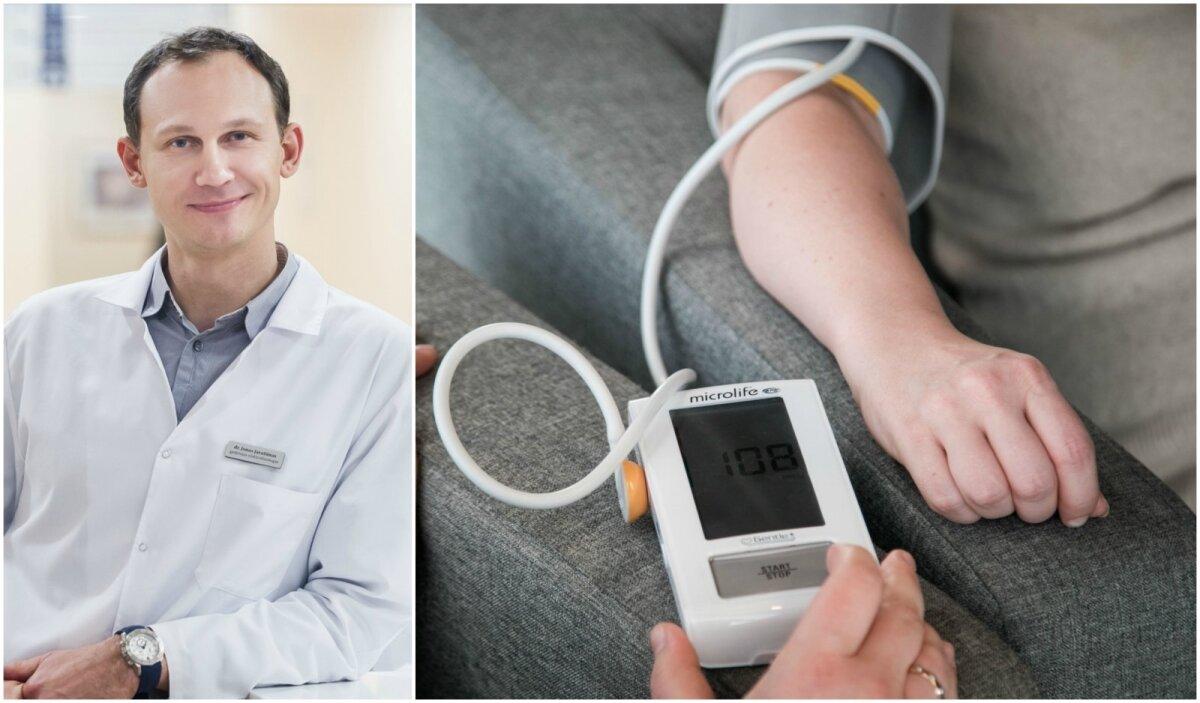 hipertenzija 3 laipsniai kokio slėgio