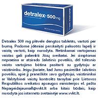 ar galima Detralex vartoti esant hipertenzijai