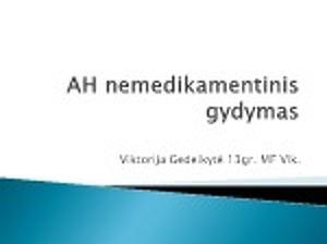 hipertenzijos medikamentinis gydymas koks hipertenzijos forumas