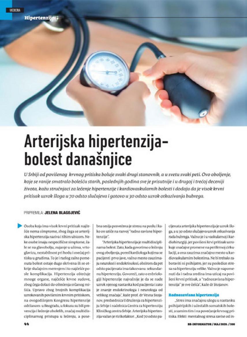 hipertenzija su endokrinopatijomis)