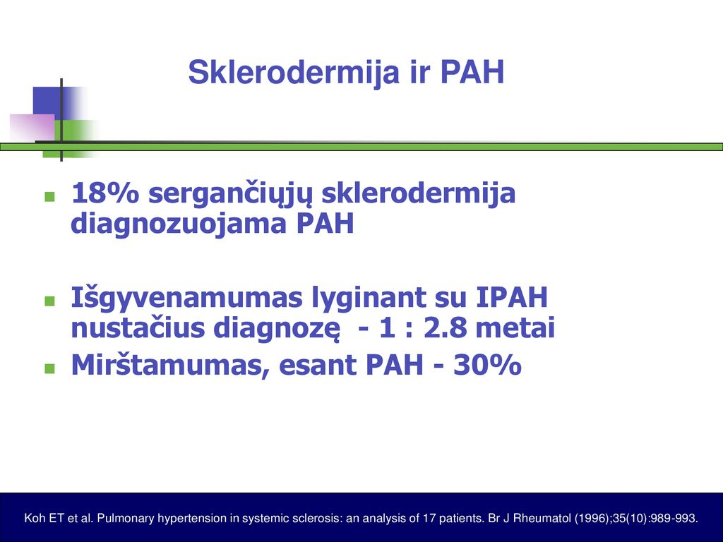 sklerodermija ir hipertenzija)