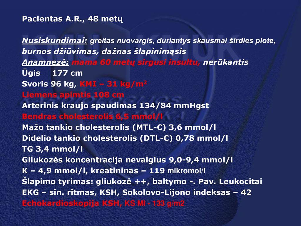 burnos džiūvimas su hipertenzija