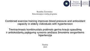sąnarių hipertenzija