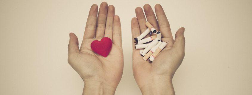 ar rūkymas turi įtakos širdies sveikatai)