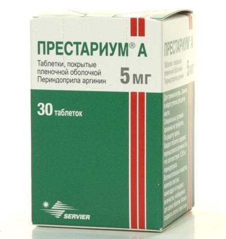 Co-Perineva 4mg+12.5mg tabletės N30