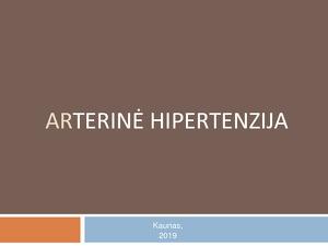 hipertenzijos komplikacijos