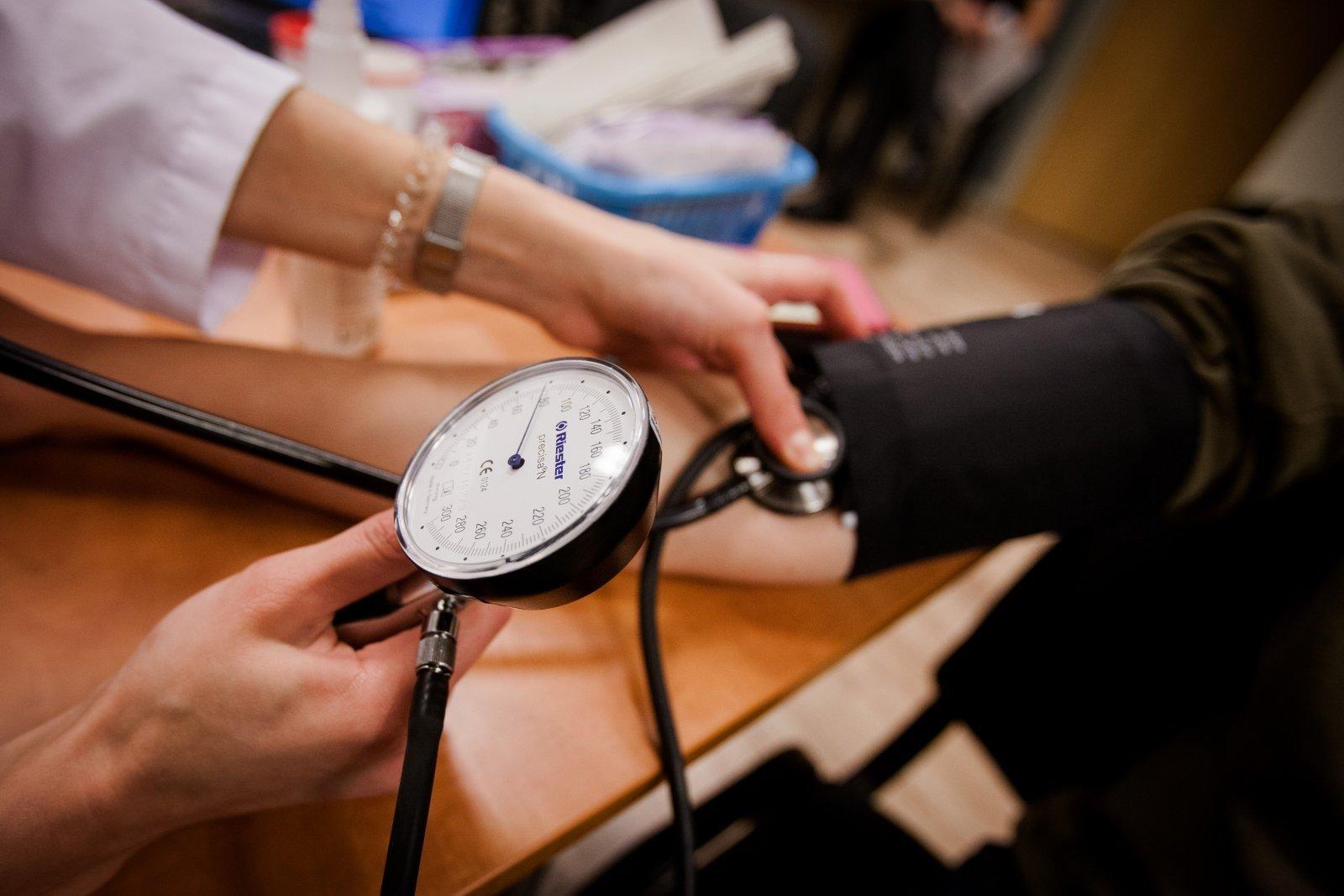 nemiga su hipertenzija ką daryti)