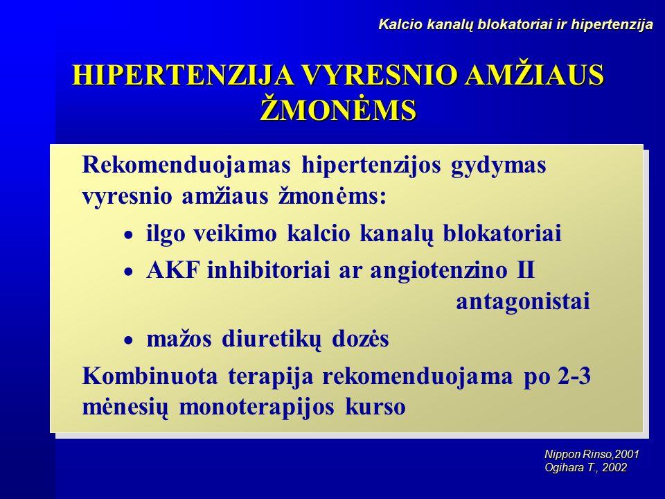vyresnio amžiaus žmonių hipertenzijos eigos ypatumai)