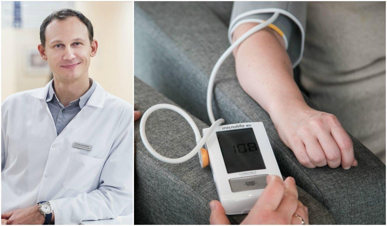 kuo skiriasi hipotenzija nuo hipertenzijos