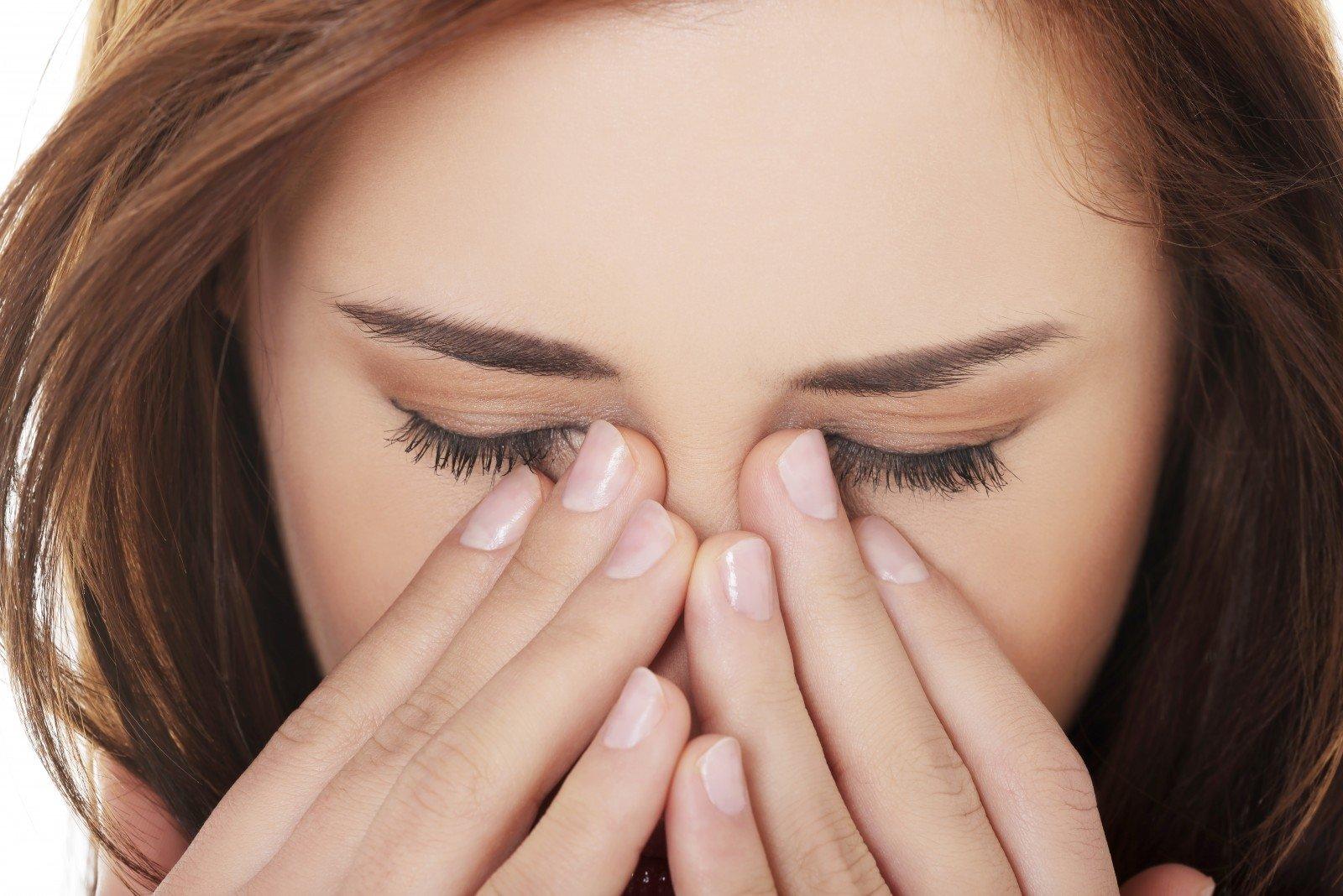 kapiliarai akies hipertenzijoje