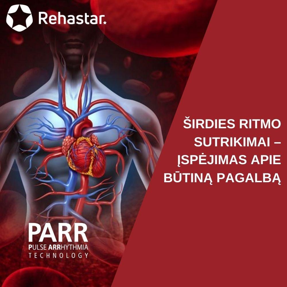 sveikatos širdies ritmas rimtas