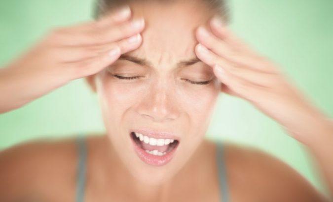 masažas nuo galvos skausmo ir hipertenzijos