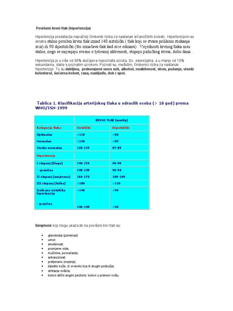 hipertenzijos komplikacijų gydymas ir prevencija