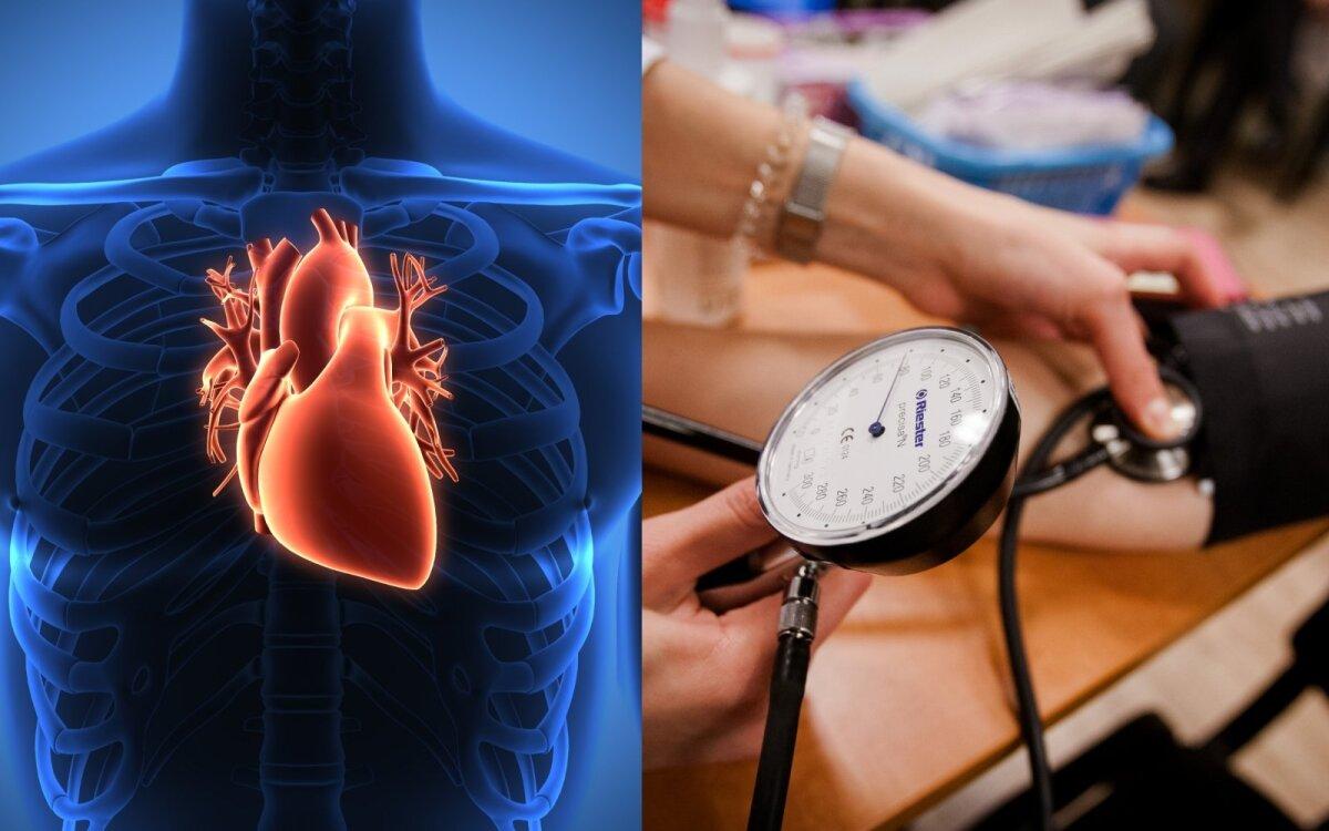 hipertenziją įveikusių žmonių)