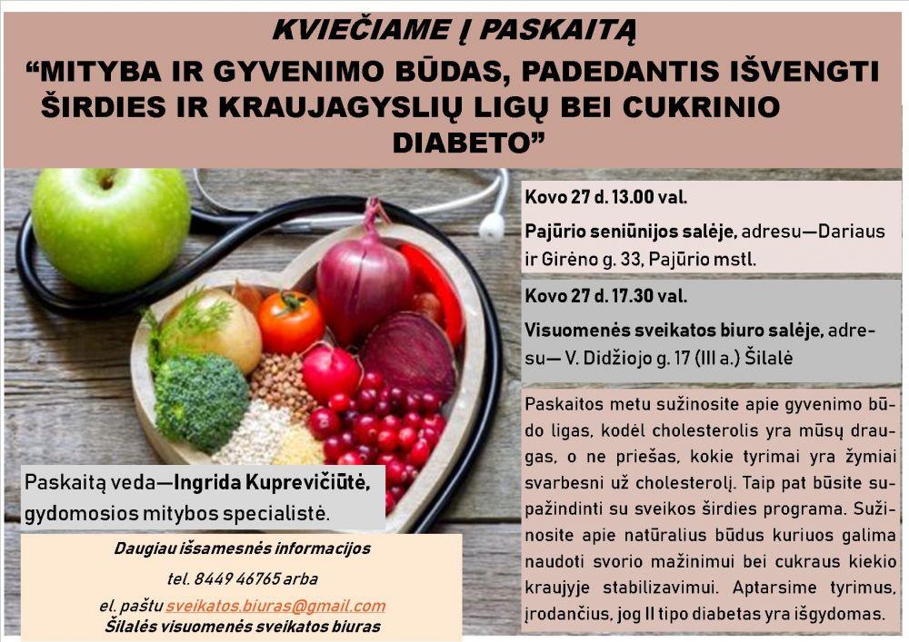 dietinis cholesterolis ir širdies sveikata