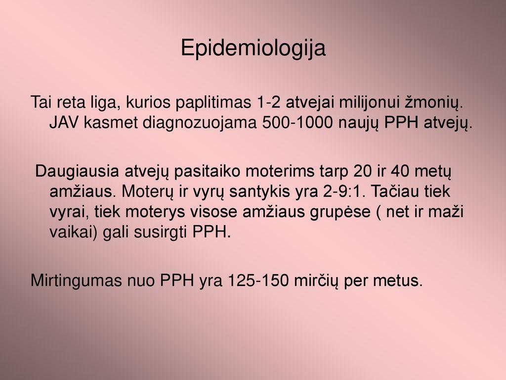pleuritas su hipertenzija)