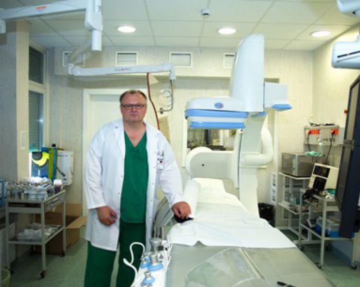 Apie centrą - VšĮ Vilniaus universiteto ligoninė Santaros klinikos