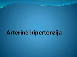 hipertenzija suaugusiems)
