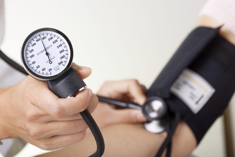 hipertenzija ir kontrolė