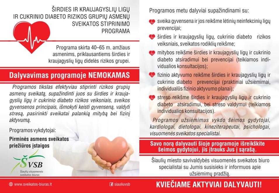 kūgio sveikatos grupės širdies priežiūra
