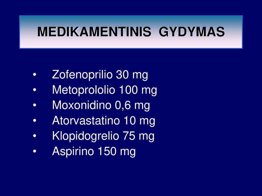 atorvastatinas nuo hipertenzijos)