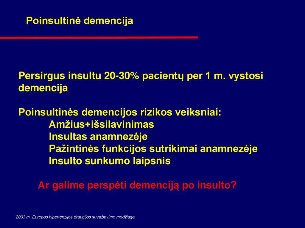 hipertenzija 3 ir 4 sunkumo laipsniai
