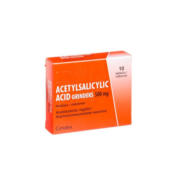 acetilsalicilo rūgštis ir hipertenzija