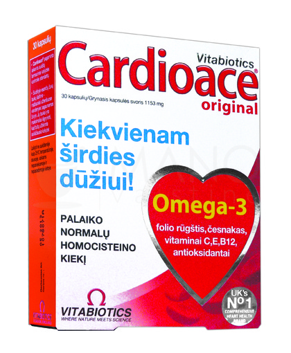 antioksidantai širdies sveikata)