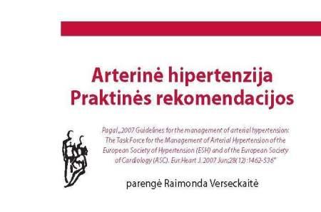 produktai, rekomenduojami nuo hipertenzijos)