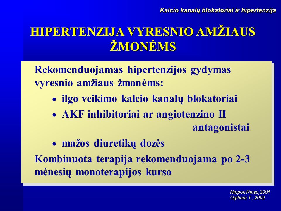 angiotenzino receptorių blokatoriai hipertenzijai gydyti)