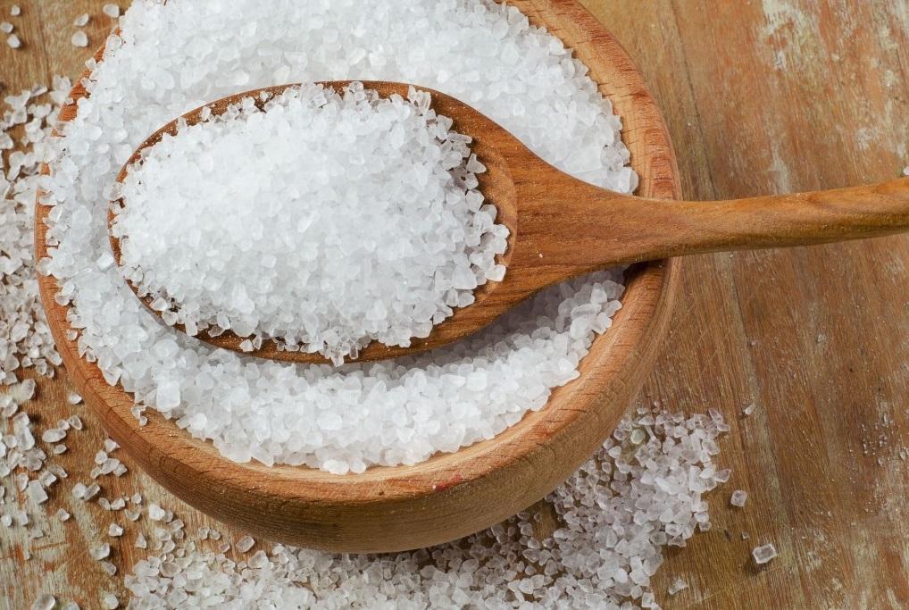 hipertenzijos gydymas jūros druska