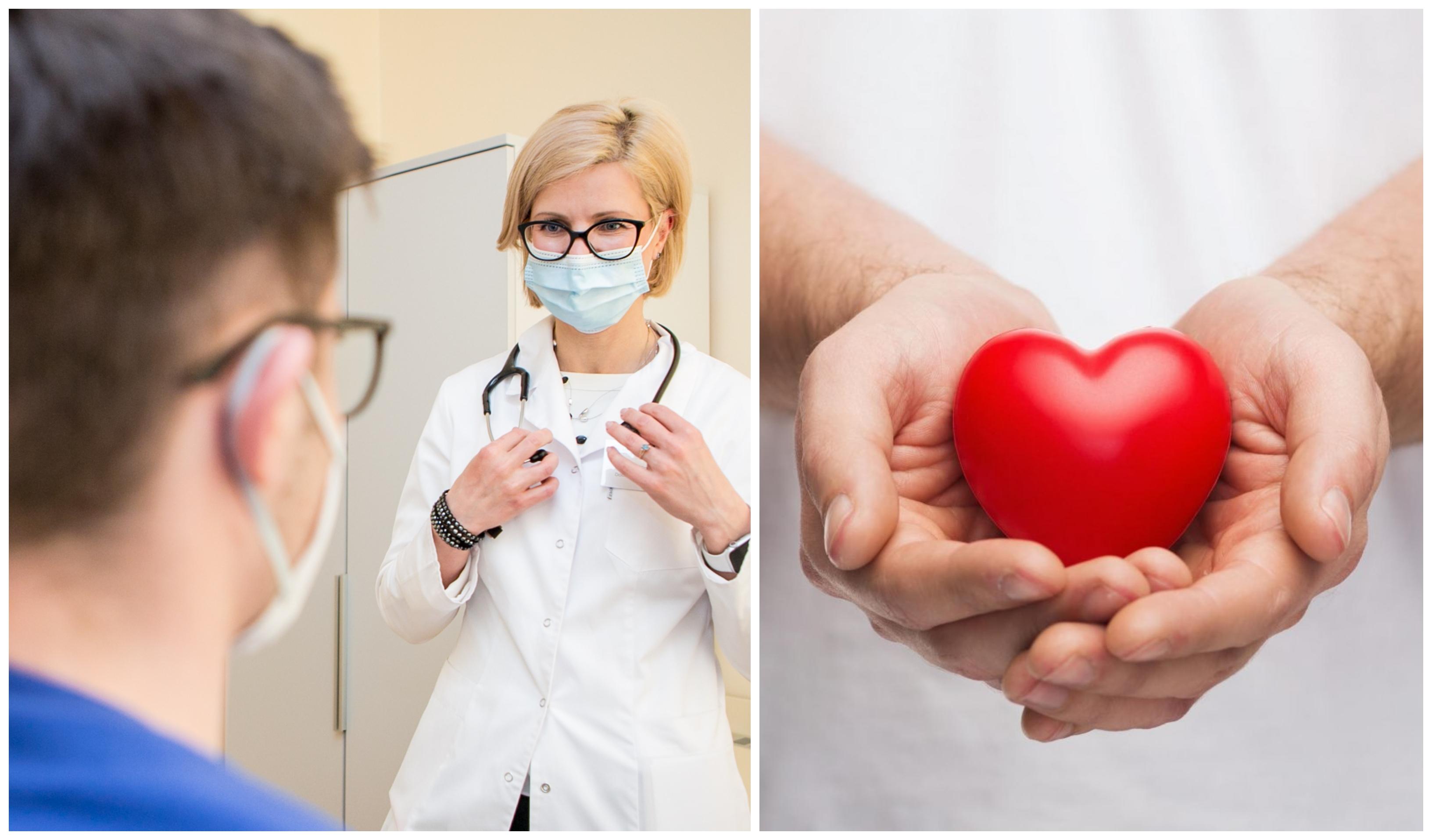 širdies nepakankamumo hipertenzijos diagnozė)
