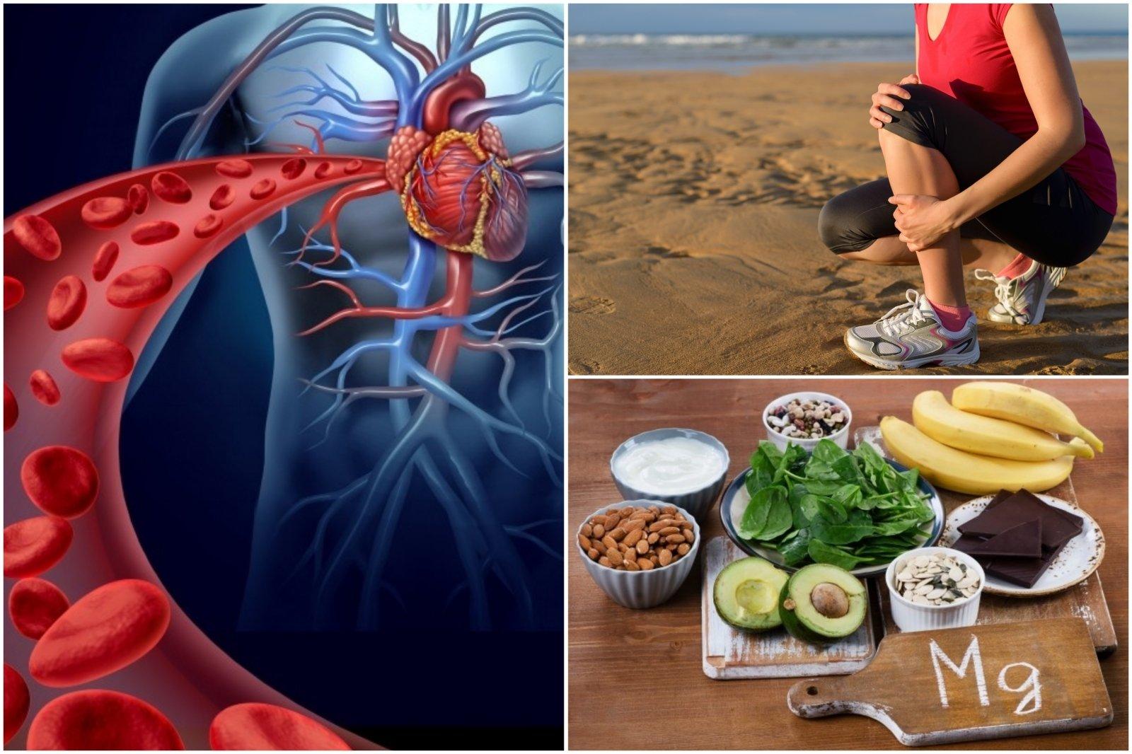 magnio poveikis hipertenzijai